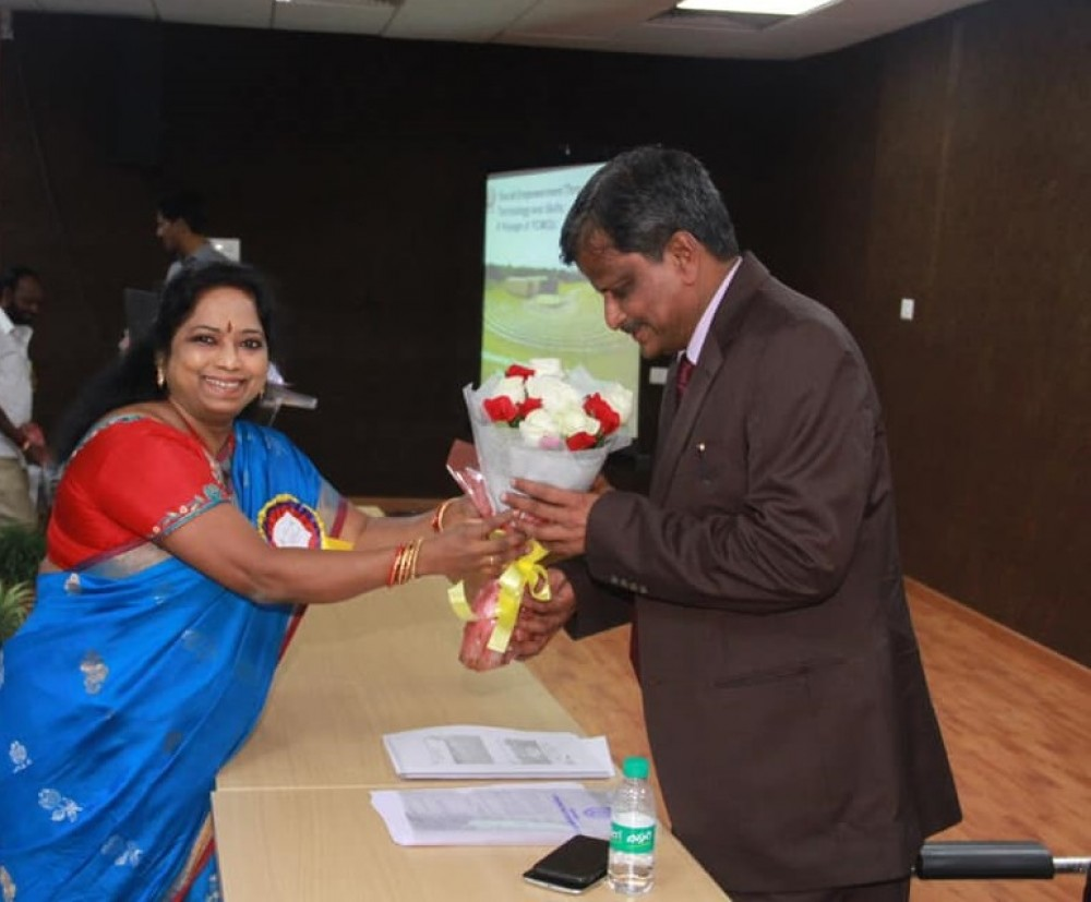 International Conference at Dr. B. R. Aambedkar Open University, Hyderabad.