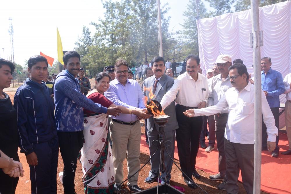 Yashwantrao Chavan Maharashtra Open University Kendiry Krida Mahotsav - 2018, Octobar 29. Udghatan Samaroh.